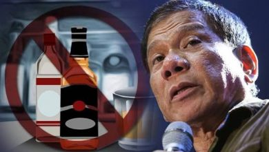 Photo of Duterte to impose nationwide liquor ban, curfew for minors