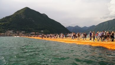 "Photo of Italy's ""The Floating Piers"" amaze thousands on opening day"