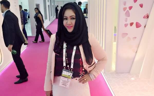 Mary Jane Alvero-Al Mahdi: Taking Muslim fashion  to the next level