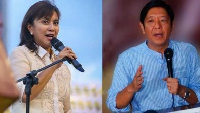 Photo of Robredo takes oath; Marcos presses with protest