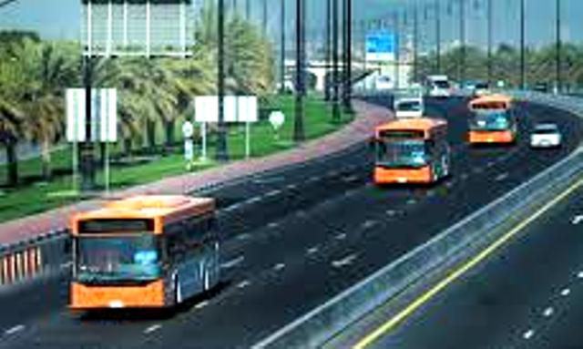 New bus route transport Sharjah passengers to Dubai Airport