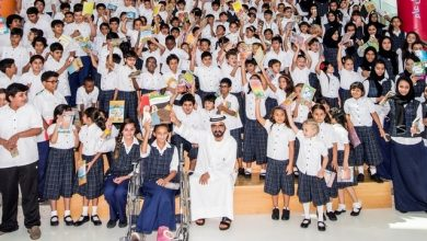 Photo of UAE gives away books to children across the globe