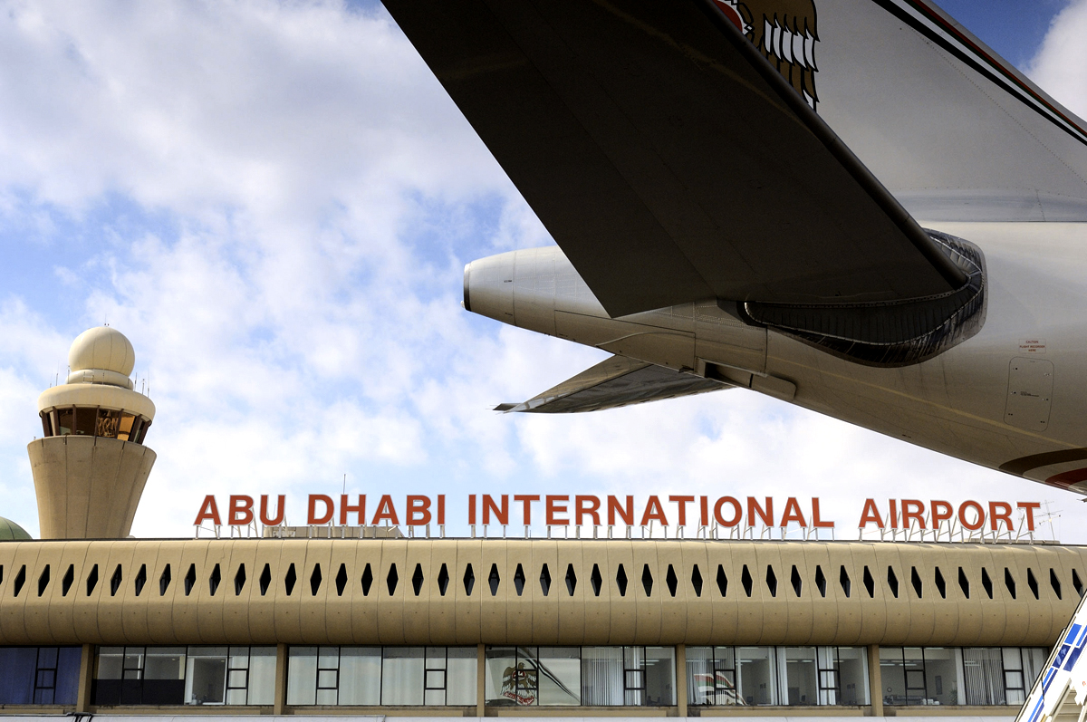 Abu Dhabi airport passengers up by 4%