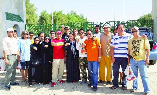 Filipino groups aid distressed OFWs at Saudi Oger, Samama
