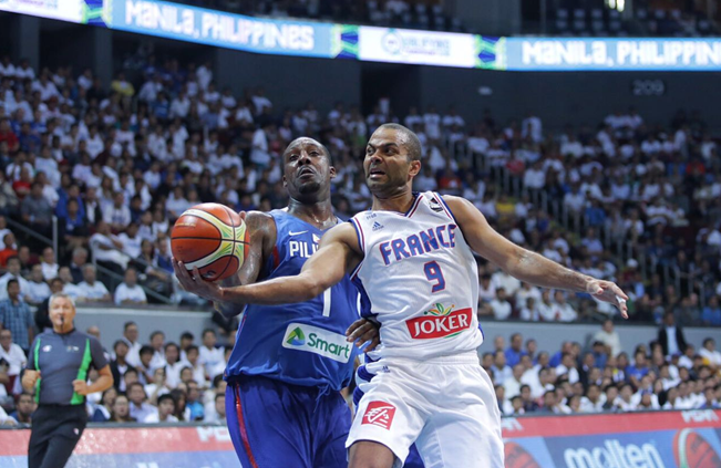 Gilas Pilipinascapitulated to France, 93-84