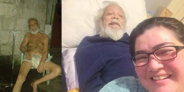 Help pours in for actor Dick Israel after viral Facebook post