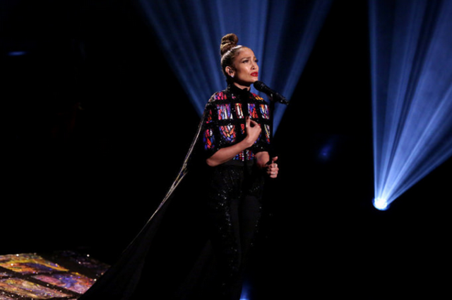 JLo flaunts Michael Cinco gown in 'The Tonight Show'