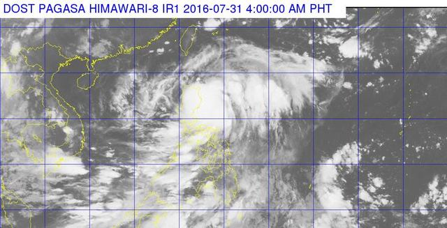 Northern Luzon on alert as 'Carina' hits land