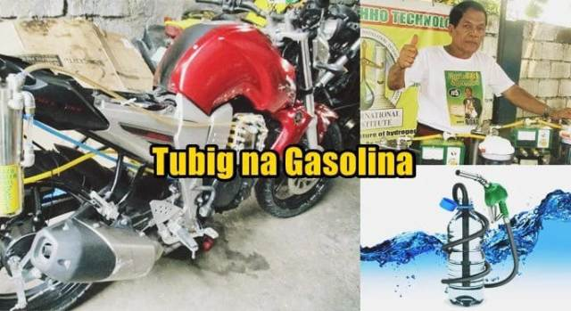 Pinoy invents 'water gasoline,' receives Outstanding Inventor Award