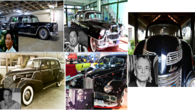Photo of Plate Number 1: A look at PH presidential cars