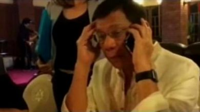 Photo of Presidential daughter calls Duterte to ask help with SONA homework