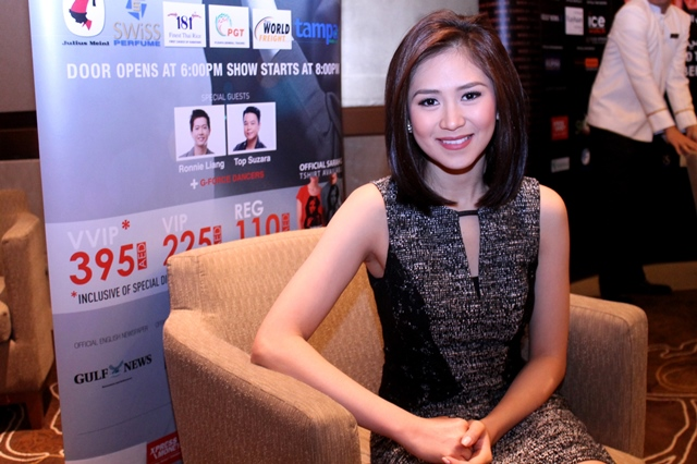 TFT EXCLUSIVE: Sarah Geronimo in Dubai!