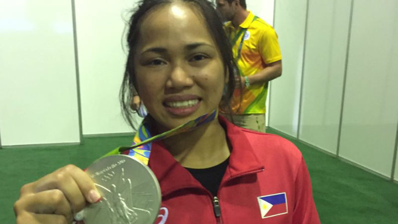 Hidilyn Diaz wants quality training for aspiring Olympians