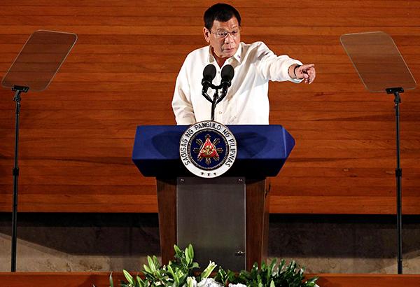 Duterte to UN: I'm the President