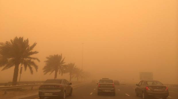 UAE Weather Bureau issues Sandstorm alert