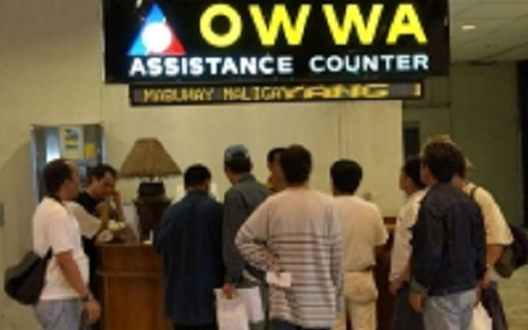 OFW victims of Typhoon Lawin to get cash aid