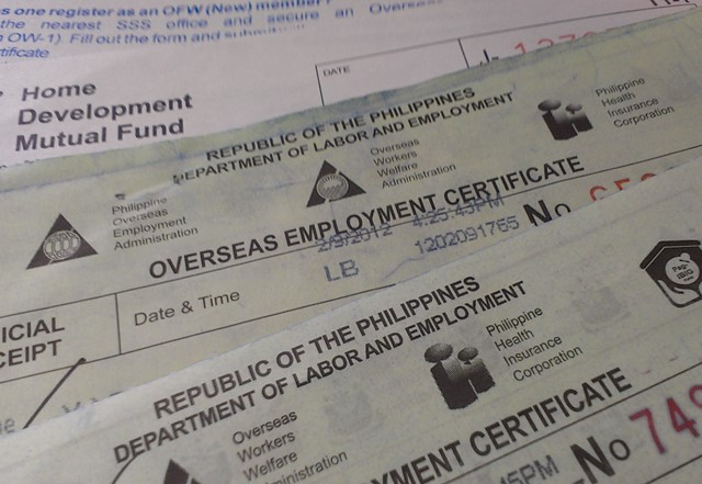 Returning OFWs to be exempted from OEC requirement