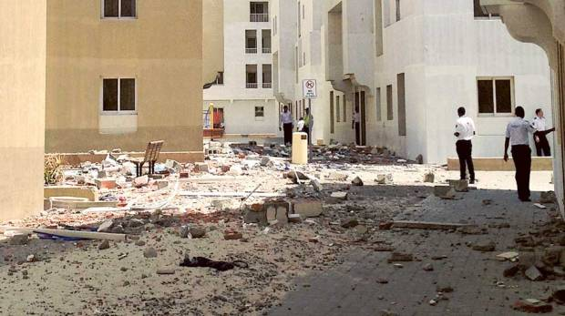 Two women, baby rushed to hospital after explosion at Al Khail Gate