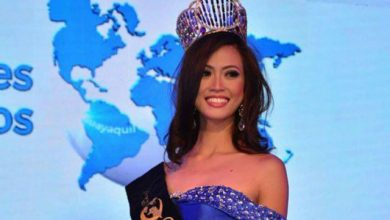 Photo of Miss United Continents winner back in Philippines