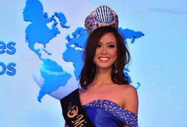 Miss United Continents winner back in Philippines