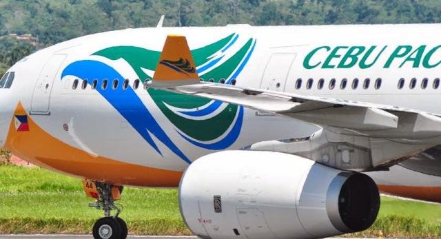 Cebu Pacific sees increase in passengers