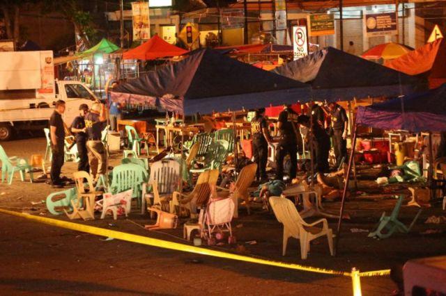 Chinese leaders denounce Davao blast