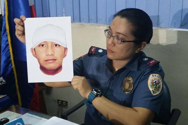 Davao blast suspect cartographic sketch revealed