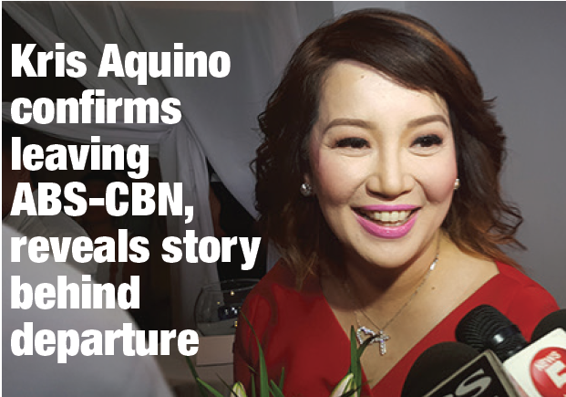 Kris Aquino confirms leaving ABS-CBN, reveals story behind departure