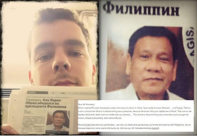 VIRAL: Russian netizen expresses admiration for Duterte's courage