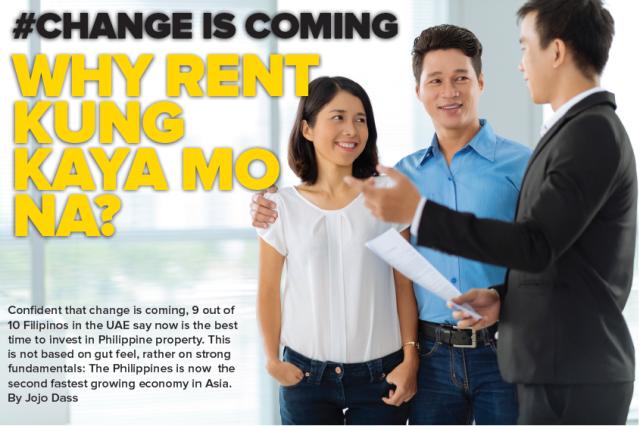 Why rent kung kaya mo na? #Change Is Coming
