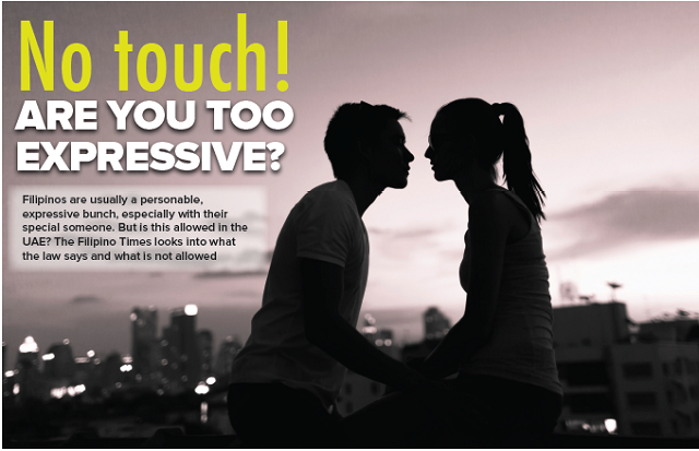 No touch! Are you too expressive?