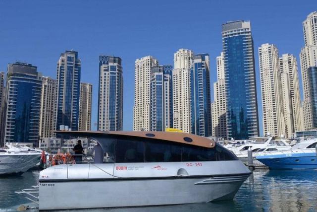 Nol services now cover Water Bus in Dubai Marina