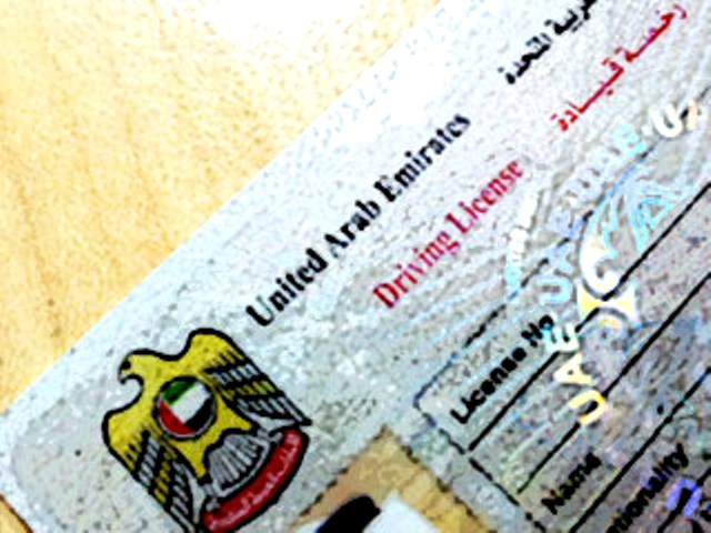 Lost driving licenses may be replaced online in Sharjah