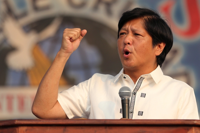Bongbong Marcos may become Philippine's new VP – Duterte