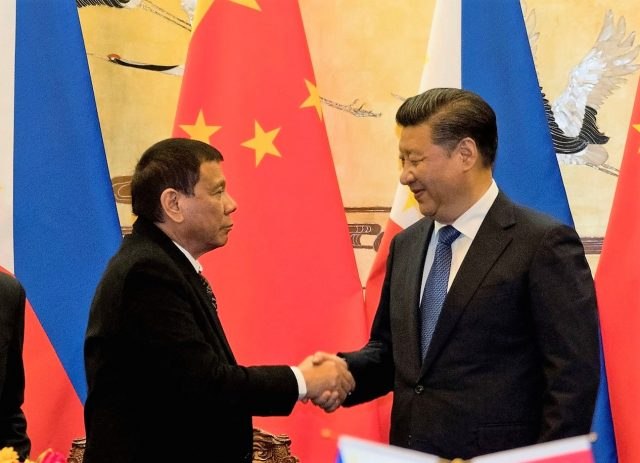 'Scarborough is ours', Duterte tells China