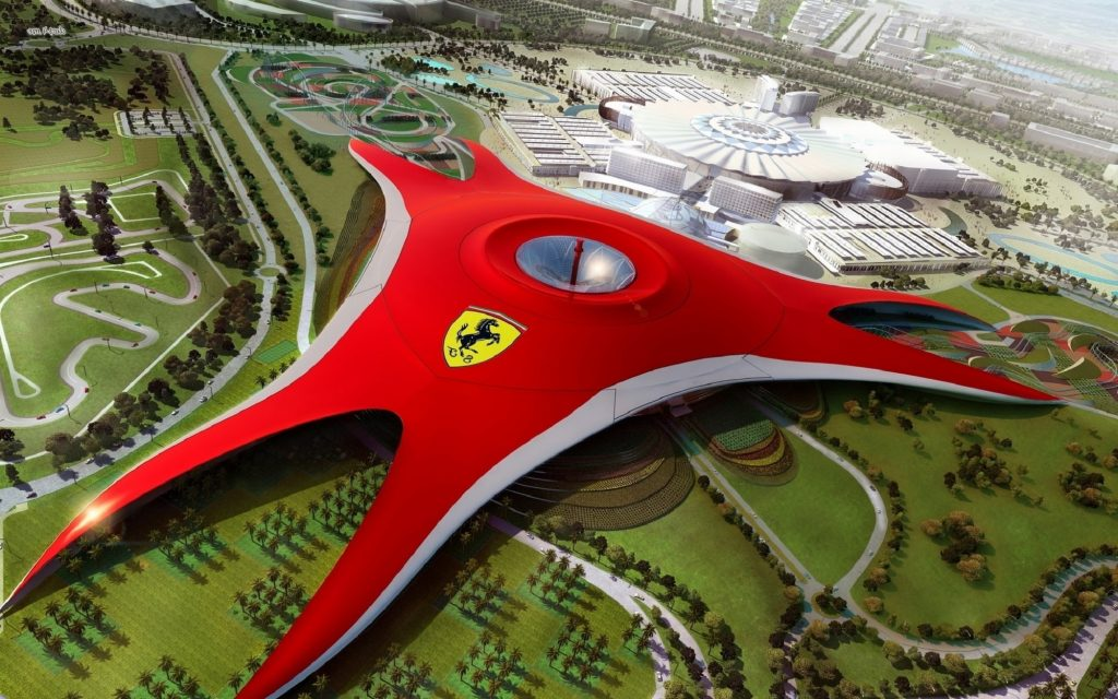Ferrari World To Spend Dh700m On New Rides Theme Park
