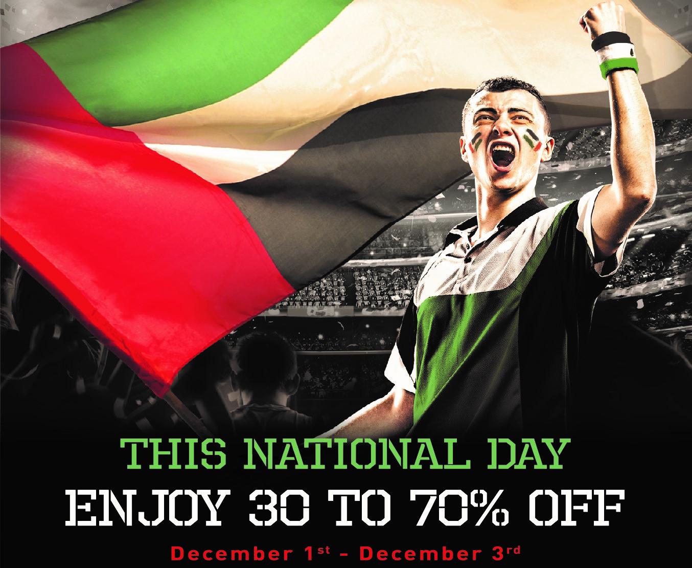 Super sale on UAE National Day