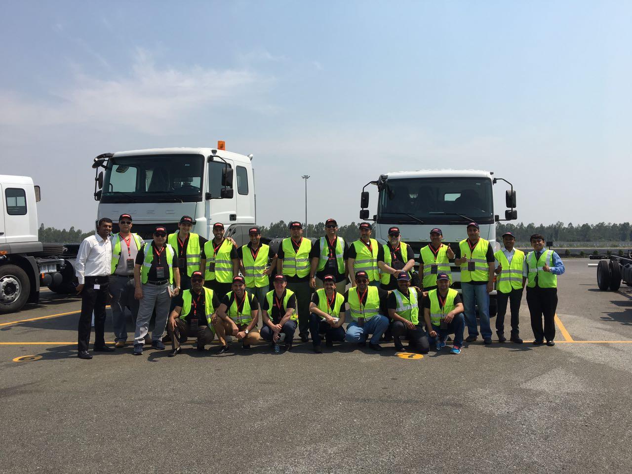 Saudi Arabia's largest fleet customers visit Fuso with Al Habtoor Motors