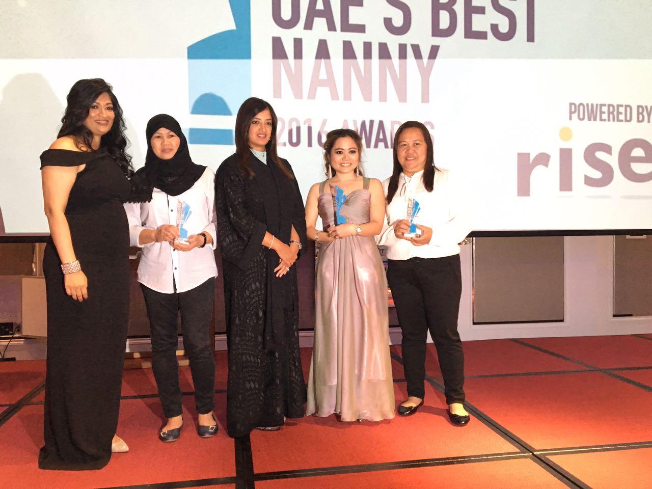 Three Filipinas win UAE's super nanny contest
