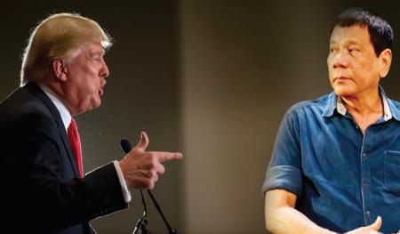 Image result for duterte vs trump
