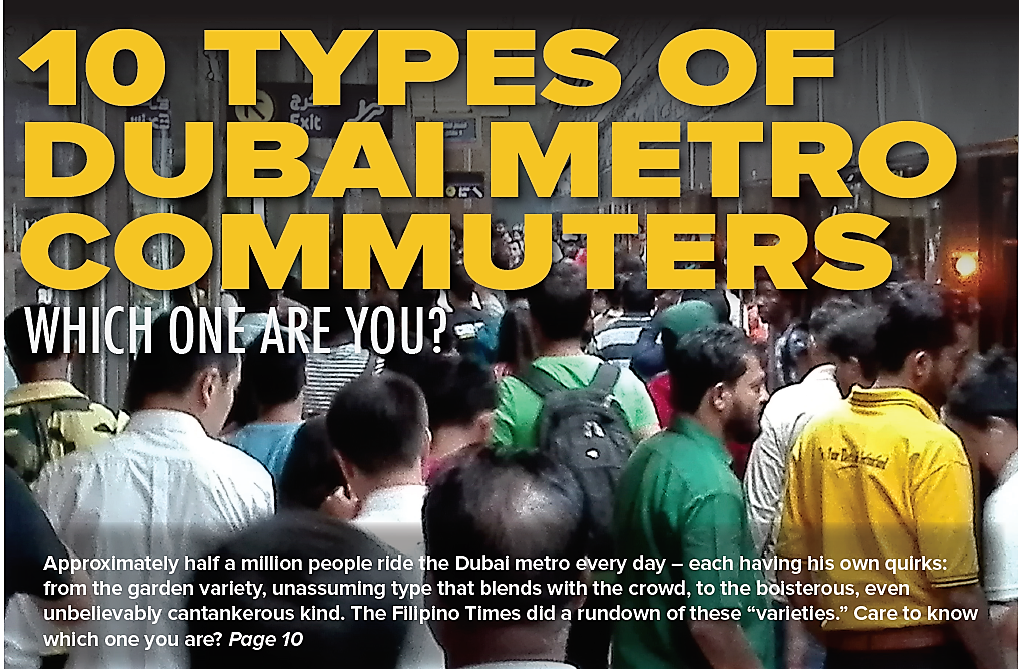 10 types of Dubai metro commuters: Which one are you?