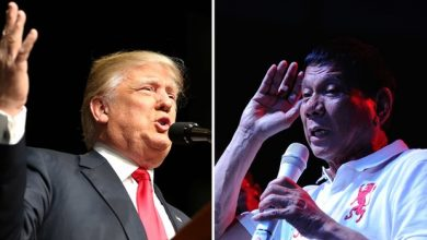 Photo of Duterte calls Trump 'friend,' says he invited him for coffee