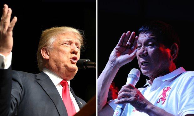 Duterte finds 'kindred spirit' in Trump