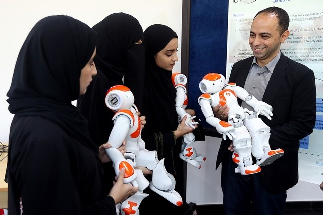 Humanoid robot being developed in UAE