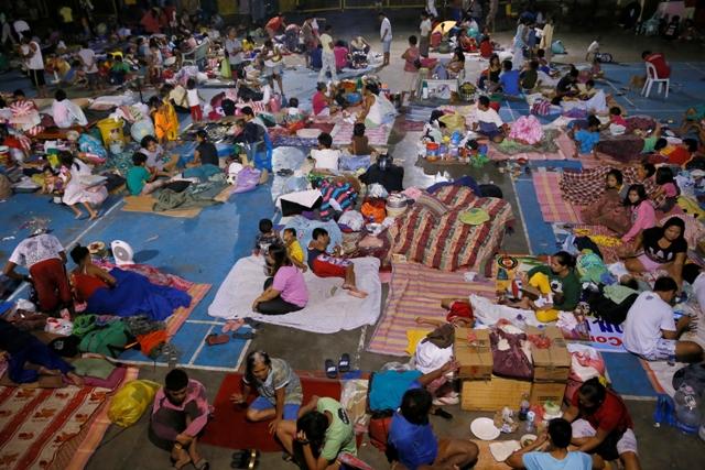 Typhoon Marce prompts evacuation of 1,579 families