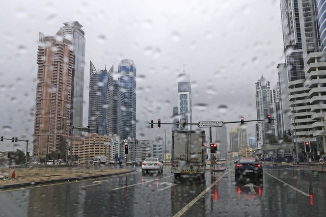 UAE warns public of extreme weather conditions