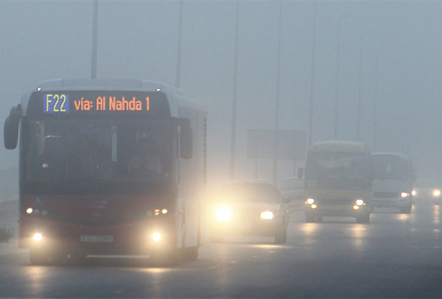 Motorists warned as thick fog blankets UAE