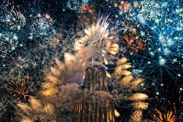 650K to witness New Year fireworks show at Burj Khalifa