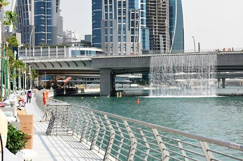 RTA bans cycling at Dubai Water Canal boardwalk