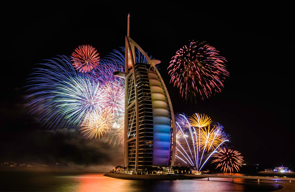 Dubai aims to host world's biggest New Year's Eve 2016 celebration